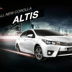 Corolla Altis Thế hệ đột phá 2014 – Mê hoặc đến từng đường nét