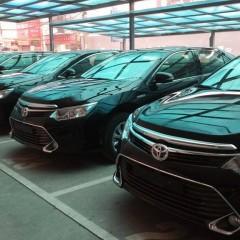 Toyota Camry 2015 tập kết về các đại lý Toyota Việt Nam