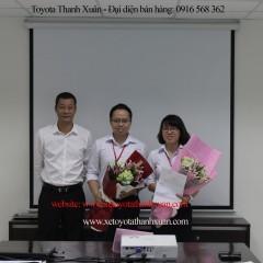 Toyota Thanh Xuân khen thưởng CBNV, phòng ban đạt thành tích