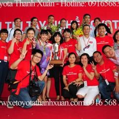 Toyota Thanh Xuân giành giải VÀNG Hội thi tay nghề TMV