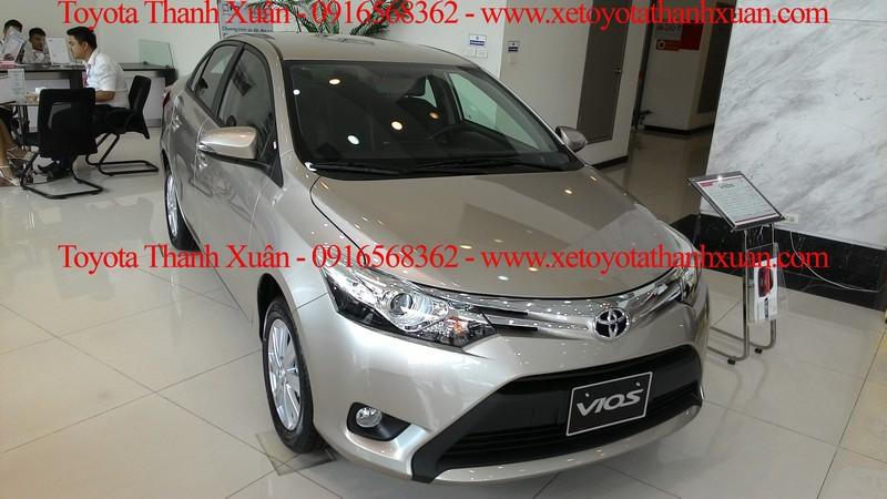 Toyota Vios giá từ 538 triệu đồng – top lựa chọn phân khúc sedan hạng B