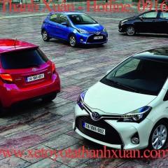 Bảng giá xe Toyota chính hãng tại Việt Nam trước ngày 1/3/2015