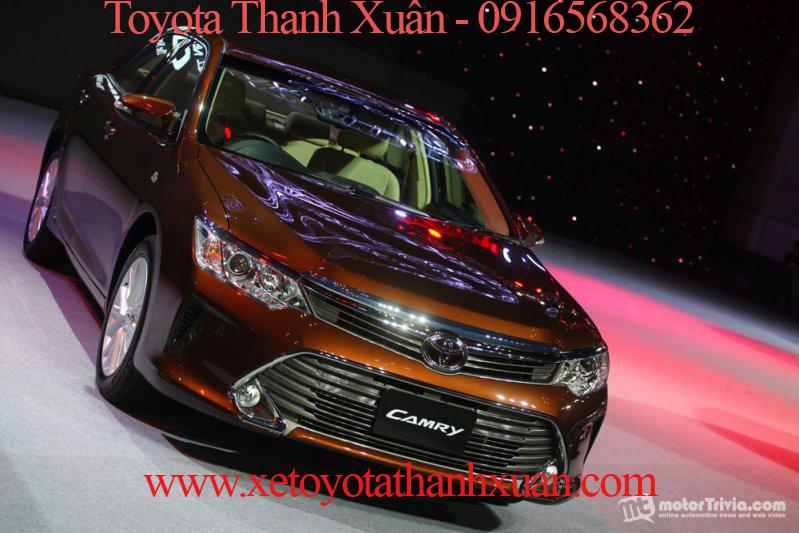 Toyota Camry 2015 vừa ra mắt tại thị trường Thái Lan và Indonesia hồi tháng trước.