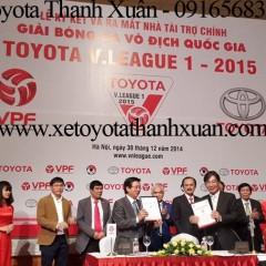 Toyota Việt Nam lập kỷ lục bán hàng trong năm 2014