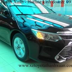 Toyota Camry 2015 chính thức xuất hiện tại Toyota Thanh Xuân