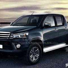 Toyota Hilux 2016 lộ diện trước ngày chính thức ra mắt