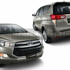 """Toyota Innova 2016 dần """"lộ diện"""" trước ngày ra mắt"""