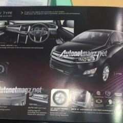 Toyota Innova 2016 rò rỉ hình ảnh chính thức