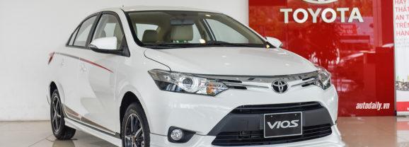 Toyota Vios 2018 tiếp tục dẫn đầu Bảng xếp hạng